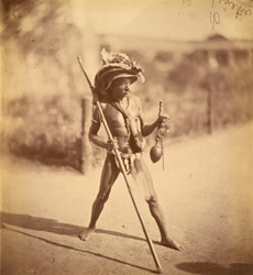 Portrait of an unidentified man, Eastern Bengal. 42